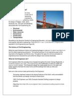 what is civil engineering portfolio