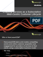 NewLeaseG2M Web-centric Services as Subscription Digital Design