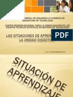 7. Las Situaciones de Aprendizaje en La UD