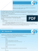 CSS-Bài 1- Tổng quan