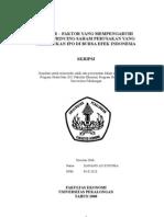 Faktor-Faktor Yang Mempengaruhi Underprincing Saham Perusakan Yang Melakukan IPO Di Bursa Efek Indonesia