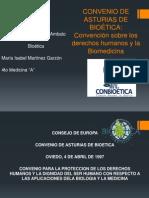 CONVENIO DE ASTURIAS DE BIOÉTICA