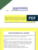 Marriage Visa Thailand (US Citizens)
