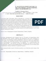 Distribucion Herpetofauna Altoandino 2004 Biologia5
