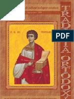 Traditia Ortodoxa 25 septembrie 2009