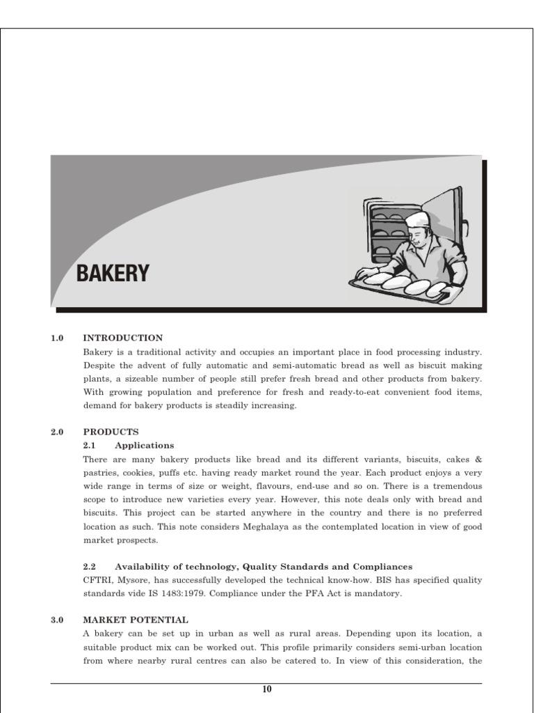 BAKERY Business plan – Bakery Business Plan