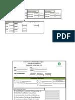 ANNUAL Maintenance Format