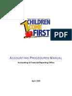 Accounting Procedures Manual 0408Draft 1