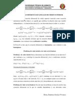 Ecuaciones Diferenciaes Lineales de Orden Superior