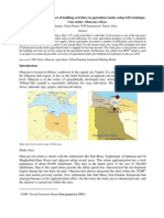 Paper on Analysing the Impact of Building Activities, In Agriculture Lands, Using GIS Technique- Libya.