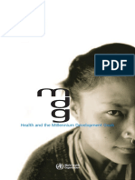 Health and MDG