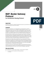 OPNET BGP Simulation