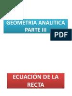 Geometria Analitica III