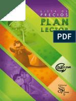 Lista de Precios Plan Lector 2014