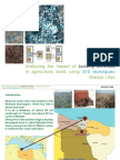 """Presentation  on """"Analysing the impact of building activities,in agriculture lands, using GIS technique.Gharyan Libya""""."""