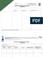 formato registro líneas de investigación2010
