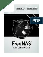 Freenas9.2.0 Guide