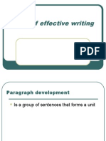 More of Effective Writing