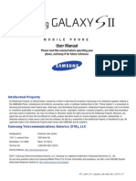 Samsung Galaxy S2 User Manual English Pdf