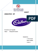 Swot Analysis of Cadbury by Uma Ganesh