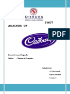 swot analysis between cadbury vs nestle Unilever vs nestle essay  include cadbury, a relative newcomer to the market which has been enjoying some success with spin-offs from its chocolate brands.