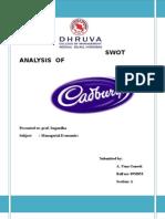 Swot Analysis of Cadbury by Uma Ganesh