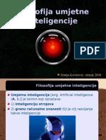Filozofija umjetne inteligencije
