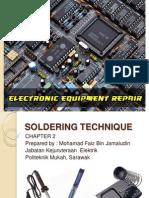 Chapter 2 - Soldering Technique