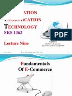 Lecture Nine ICTict