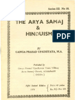 The Arya Samaj and Hinduism