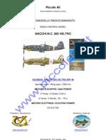 VQ MODEL MACCHI 205 VELTRO ARF 46 RC