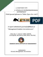 Tolins Study report