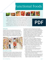 Final Functional Foods Backgrounder