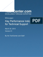 WhitePaper Key Performance Indicators for Technical Support FINAL 20130320