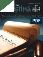 """Revista """"Actualitatea Creştină"""", luna septembrie 2009"""