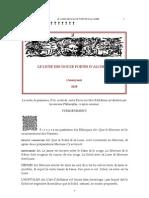 LE LIVRE DES DOUZE PORTES De l'ALCHIMIE
