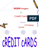 Credit Card Presentation