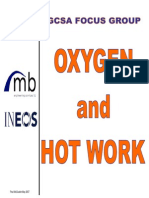 Oxygen and Hot Work