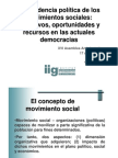 La incidencia política de los movimientos sociales