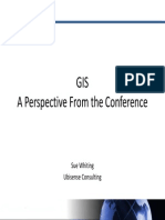 GIS a Perspective - S Whiting