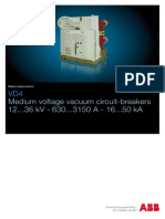 ABB Medium Voltage Vacuum Circuit-breakers VD4