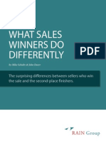 What Sales Winners Do Differently Web