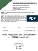 UWB Regulations 2012
