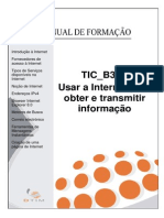 Manual Do Formando - TIC B3 D