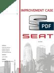 SEAT Improvent Case - EPS 2013 (International Marketing)