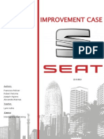SEAT Improvent Case - EPS 2013 (International Marketing)
