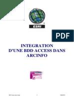 05_ms Access Et Argis