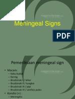 Meningeal Signs asdfg