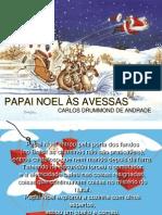 Mensagem Slides de Natal Papai Noel as Avessas