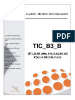 Manual Do Formando - TIC B3 B